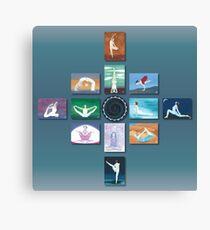 Yoga Art Series Canvas Print