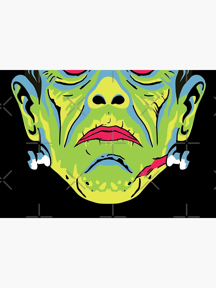 Retro Frankenstein Mask by CallumAllen
