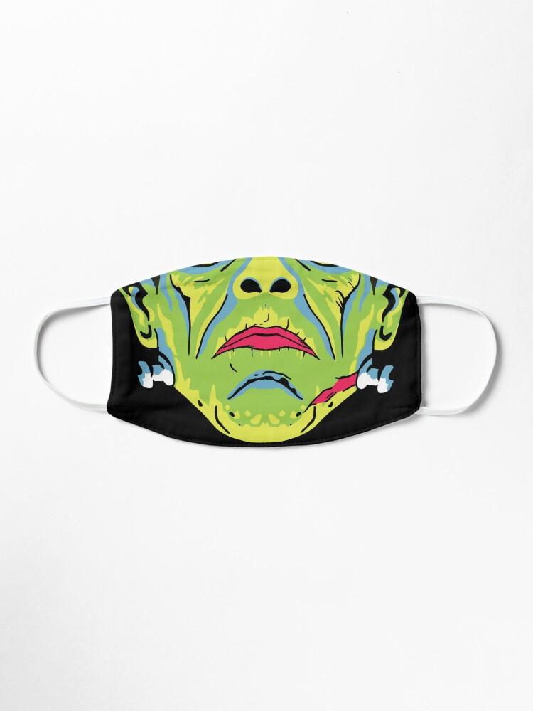 Alternate view of Retro Frankenstein Mask Mask