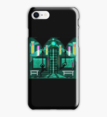 Two zippers iPhone Case/Skin