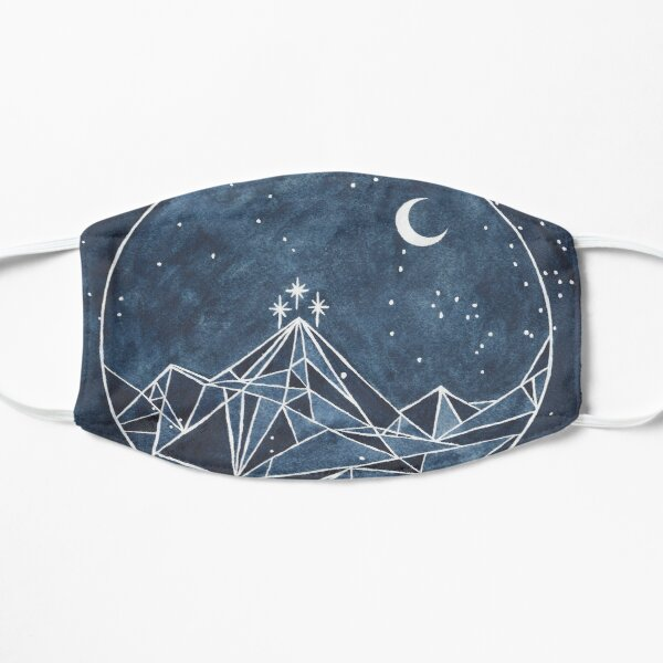 night court moon and stars Mask