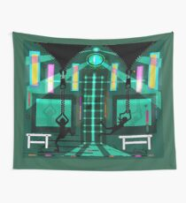 Two zippers Wall Tapestry