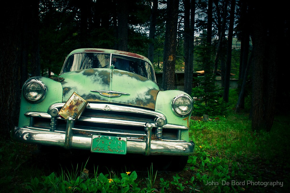 Parked For The Last Time by John  De Bord Photography