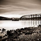 The Tasman Bridge in Monochrome by Photography1804