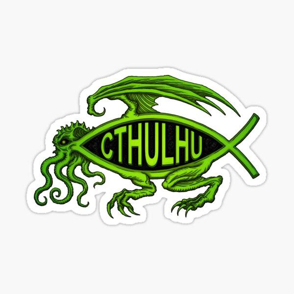 Cthulhu Fish - Azhmodai 2020 Sticker