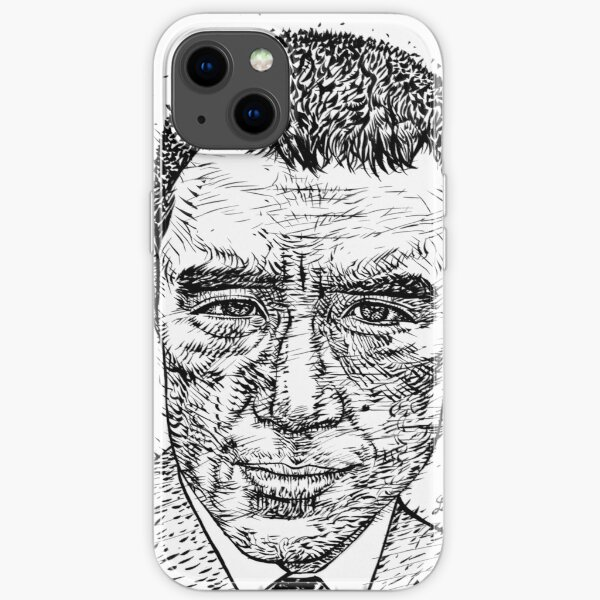 YUKIO MISHIMA ink portrait.2 iPhone Soft Case