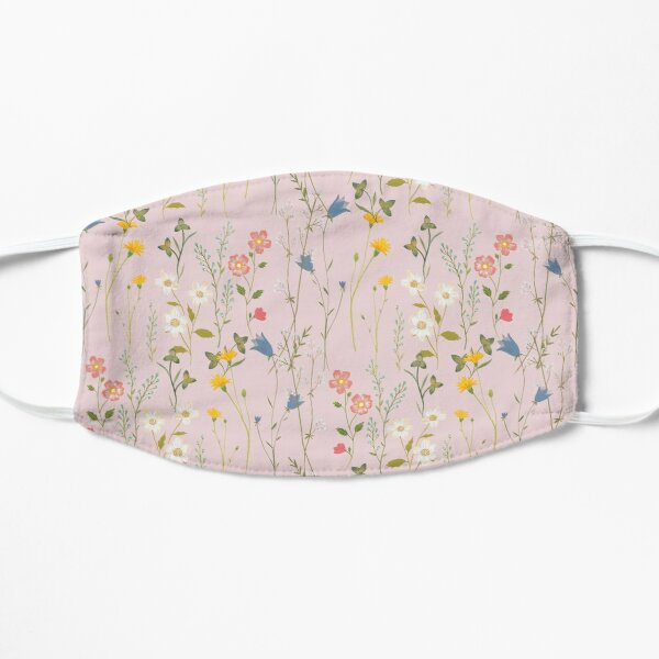 Dreamy Floral Pattern Mask