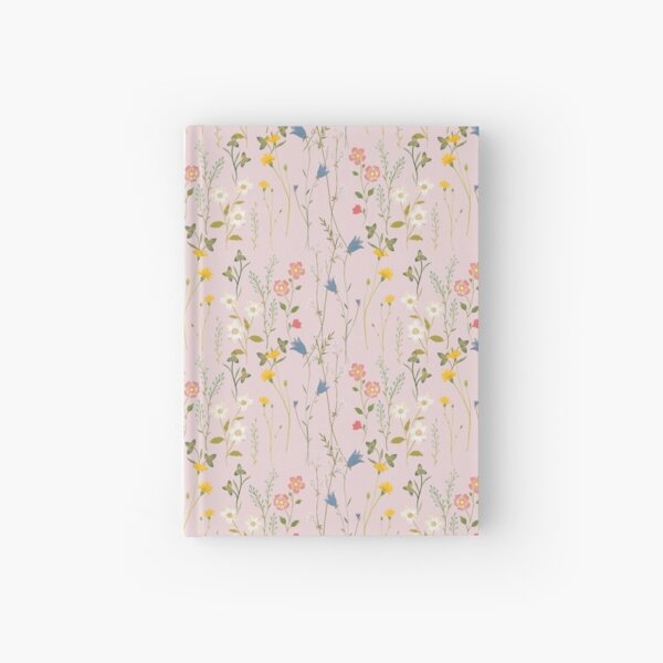 Dreamy Floral Pattern Hardcover Journal