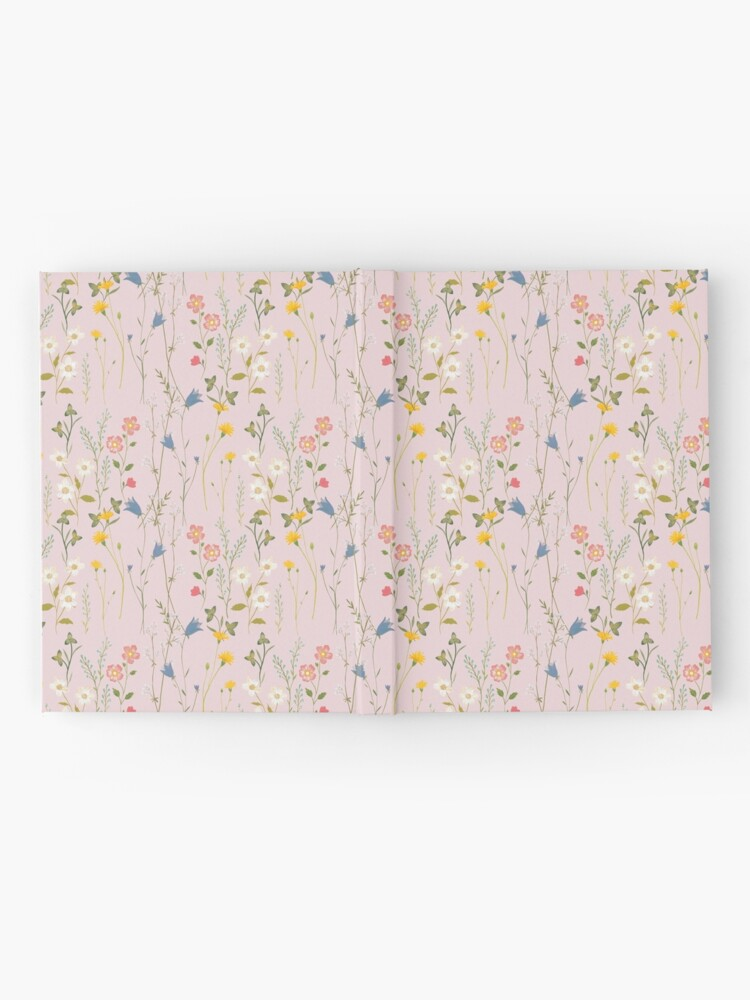 Alternate view of Dreamy Floral Pattern Hardcover Journal