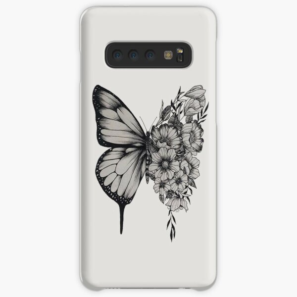 s h a w n - butterfly Samsung Galaxy Snap Case