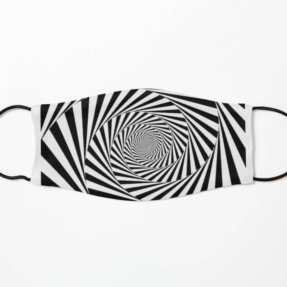 🍄 Optical Illusion, ur,kids_mask_7x3_flatlay_front,product