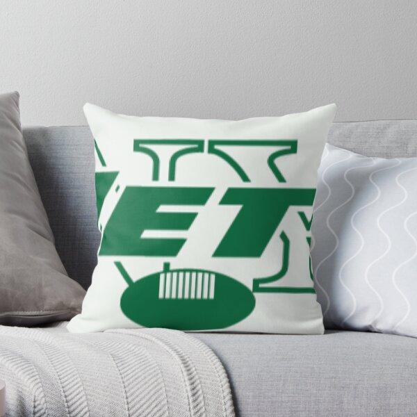 NY Jets Throw Pillow