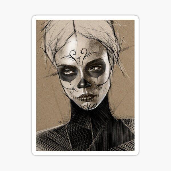 LA CATRINA Sticker