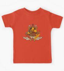 Bear & Bird Crest Kids Tee