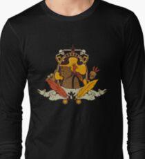 Bear & Bird Crest Long Sleeve T-Shirt