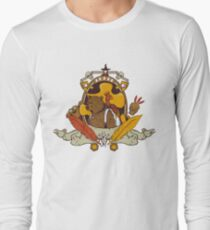 Bear & Bird Crest Long Sleeve T-Shirt