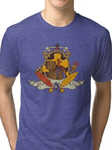 Bear & Bird Crest Tri-blend T-Shirt