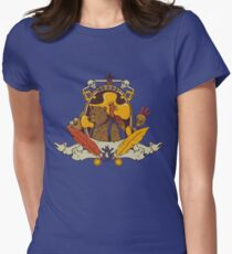 Bear & Bird Crest Women's Fitted T-Shirt