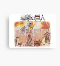 Attack On Bender Metal Print