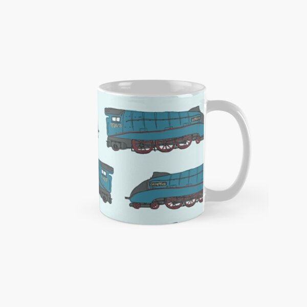 Mallard Train Pattern Classic Mug