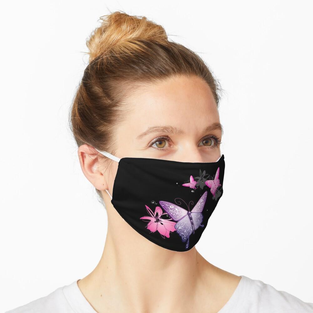 Butterfly Black face mask , beautiful face mask , lovely face mask Mask