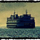 Washington State Ferry by Angie O'Connor