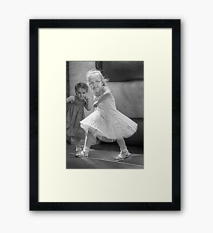 Kid with Attitude Framed Print