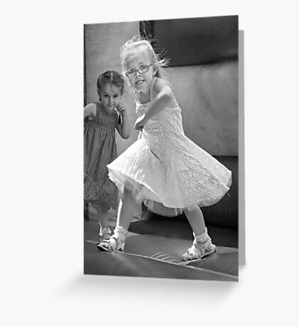 Kid with Attitude Greeting Card
