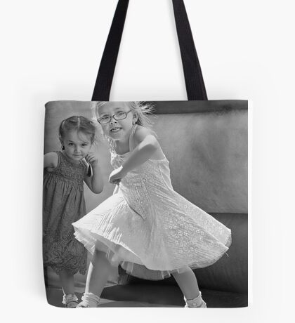 Kid with Attitude Tote Bag