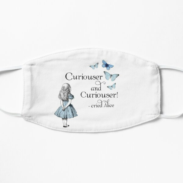 Alice in Wonderland Curiouser Mask