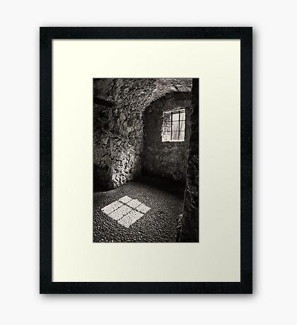 Shadow of a Window Framed Print