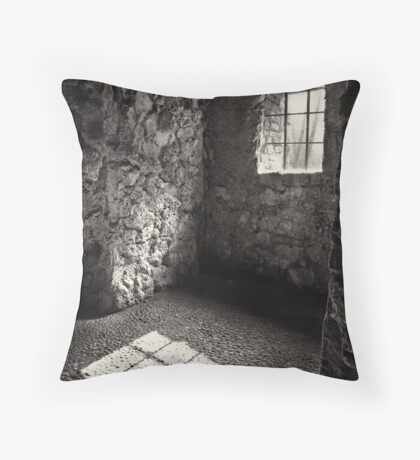 Shadow of a Window Throw Pillow