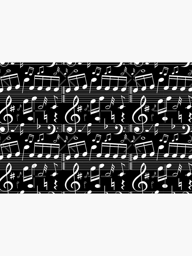 Musical Notes,  Music Player Composer Pianist Gift  by MDAM
