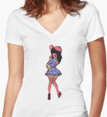 Katy Perry Women's Fitted V-Neck T-Shirt