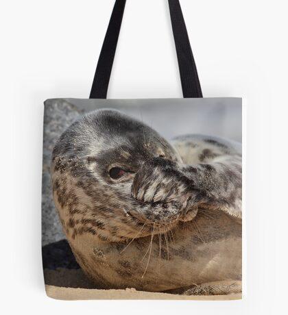 Peek-A-Boo Seal Tote Bag