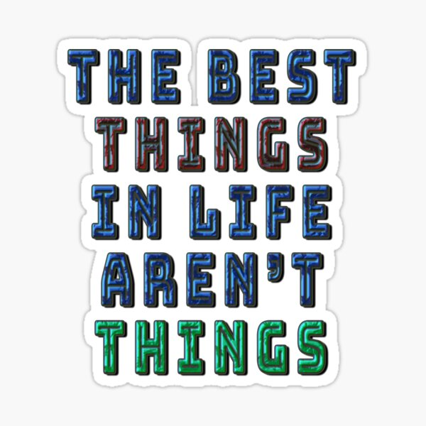 THINGS Sticker