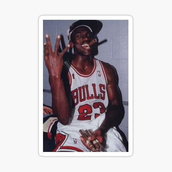 GOAT Michael Jordan Last Dance Sticker