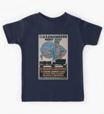 The US Engineers need you 002 Kids Clothes