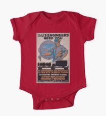 The US Engineers need you 002 One Piece - Short Sleeve