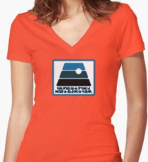Industrial Automation Women's Fitted V-Neck T-Shirt