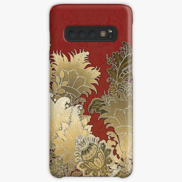 For The Goddess (Red & Gold) Samsung Galaxy Snap Case
