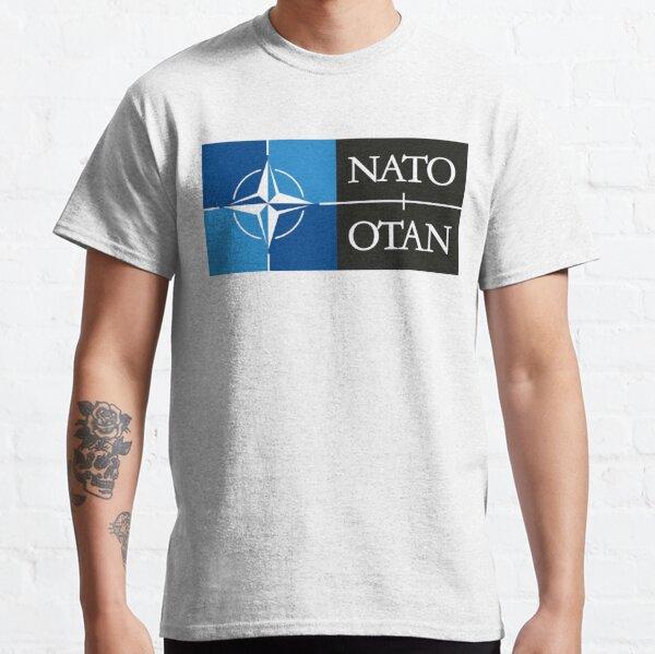 NATO. Logo of the North Atlantic Treaty Organisation, North Atlantic Alliance. Classic T-Shirt