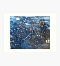"""One Breath""  by Carter L. Shepard Art Print"