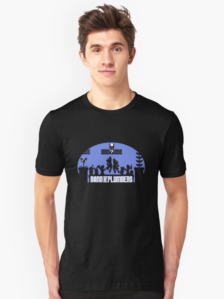 Band of Plumbers Unisex T-Shirt Front