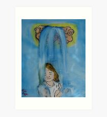 """Recieving""  by Carter L. Shepard Art Print"