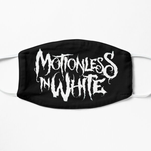 epic l0go from band metal favorite motionless in white 99name Flat Mask