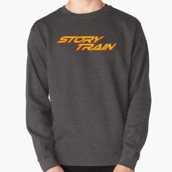 Story Train Pullover Sweatshirt