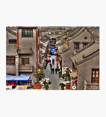 Xian Art Alley  Photographic Print