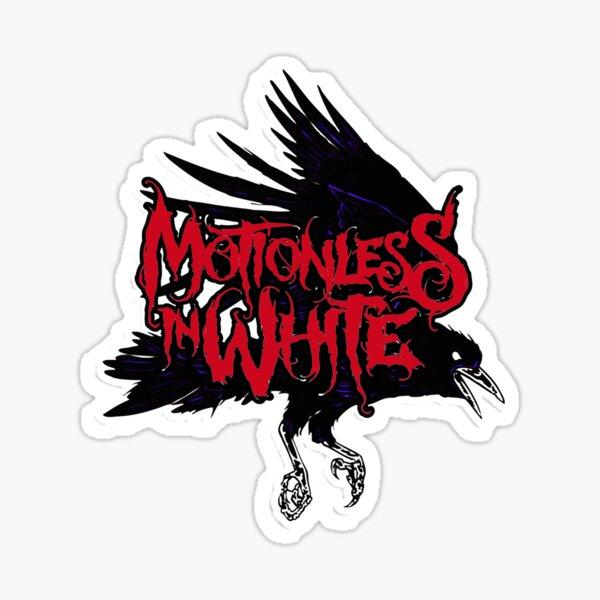 art bird motionless in white 99name music : Metalcore, Gothic metal, Industrial metal, Metal alternatif, Nu metal Sticker