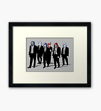 RESERVOIR FOES Framed Print